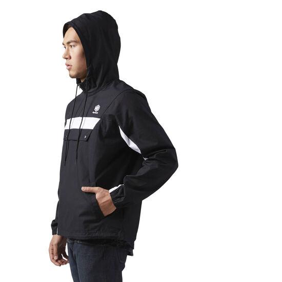 Reebok - Cotton Anorak Sweatshirt Black CE5074