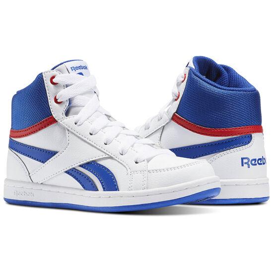 Reebok - Reebok Royal Prime Mid White/Vital Blue/Primal Red BS7328