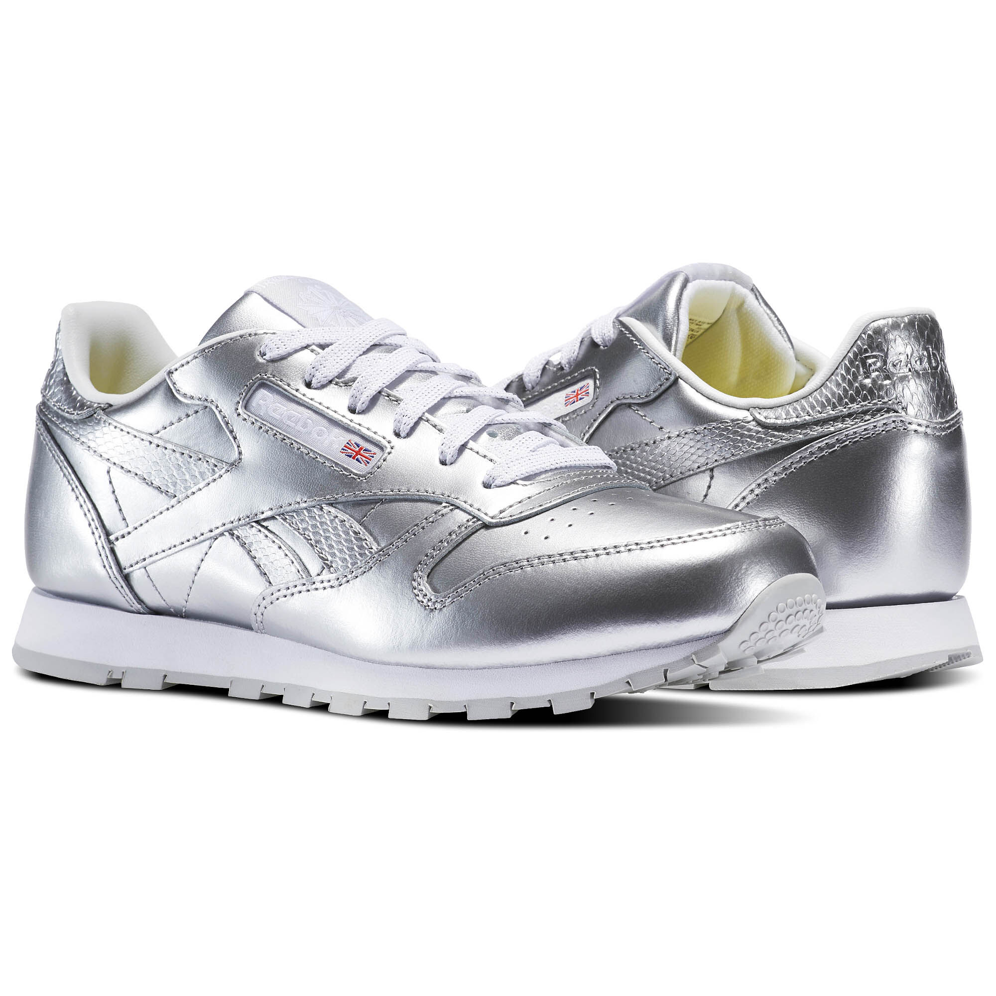 reebok silver