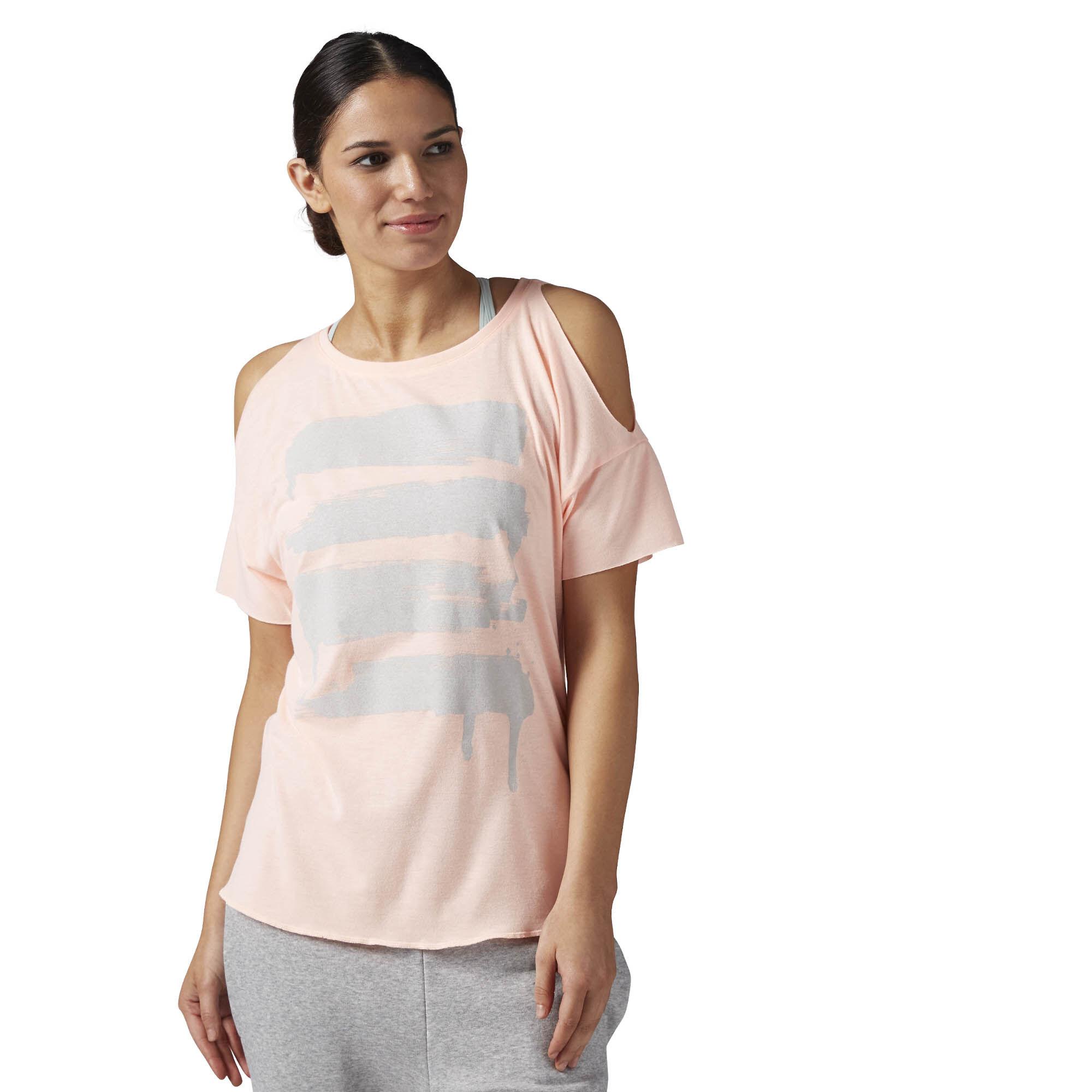 Classic Men Reebok Les Mills Bodypump Print T Shirt Carote
