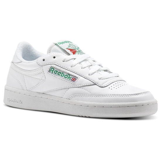 Reebok - Club C 85 Archive White/Glen Green/Excellent Red CN0905