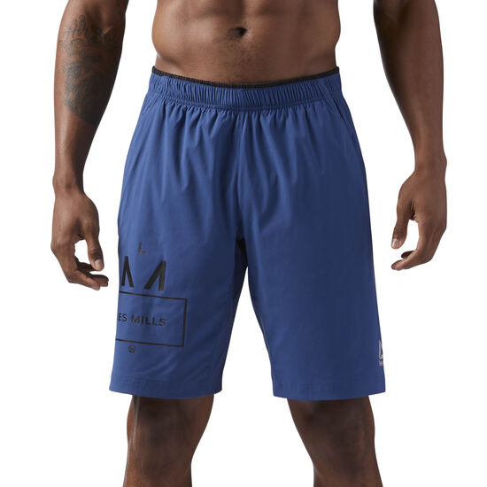 Reebok - LES MILLS 25 CMS SHORTS Washed Blue CD6179