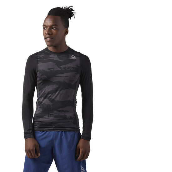 Reebok - Long Sleeve Compression T-Shirt Black CF8900