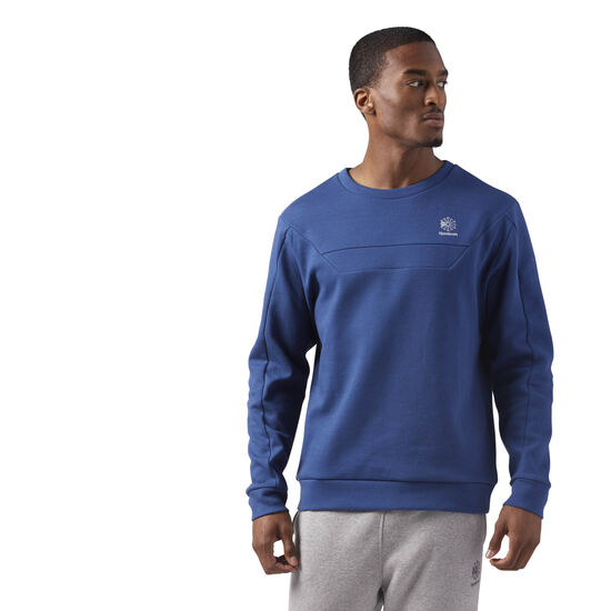 Reebok - Long Sleeve Crewneck Shirt Washed Blue CE5003