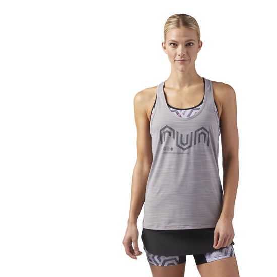 Reebok - ACTIVCHILL Cooling Tank Top Powder Grey CE4521