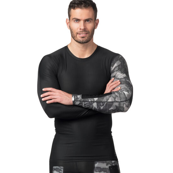 Reebok - Reebok CrossFit Compression Long Sleeve Tee Black CE2627