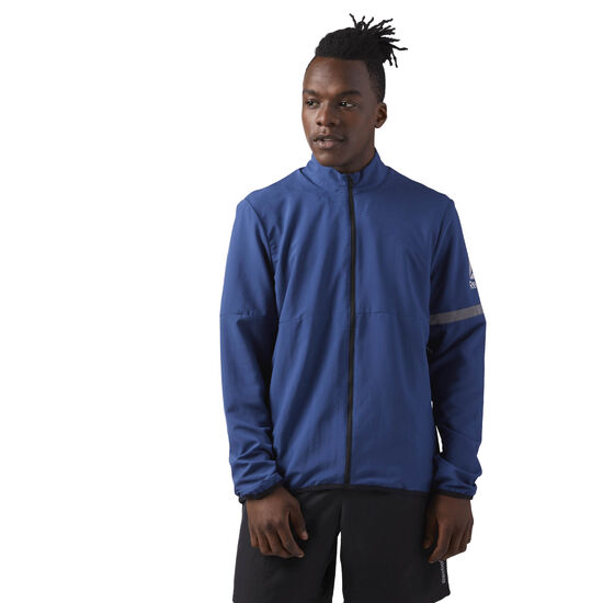 Reebok - Running Woven Jacket Washed Blue CD5691