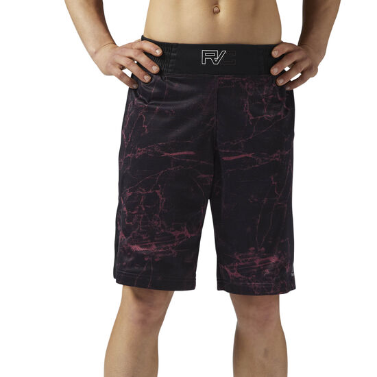 Reebok - Reebok Combat Prime Boxing Shorts Black/Burnt Sienna BQ5860