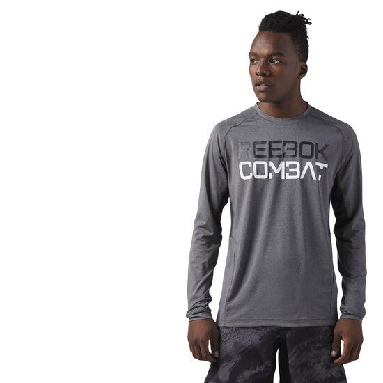Reebok - COMBAT LONG SLEEVE Dark Grey Heather CE2541