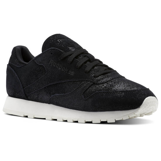 Reebok - Classic Leather Shimmer Black/Chalk BS9856