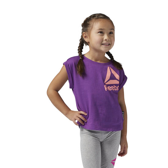 Reebok - Girls Essentials Tee Aubergine BR7201
