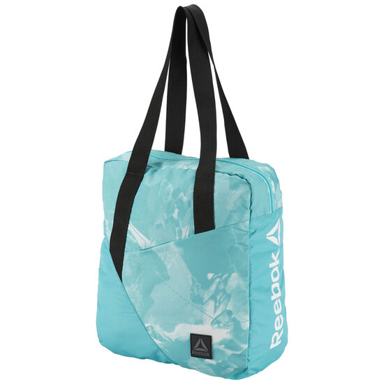 Reebok - Graphic Print Tote Bag Turquoise/Solid Teal CE2718