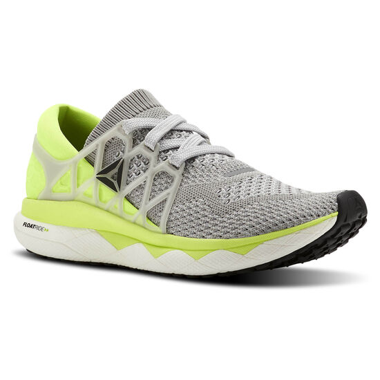 Reebok - Reebok Floatride Run Ultraknit Grey/Green/White BS7210