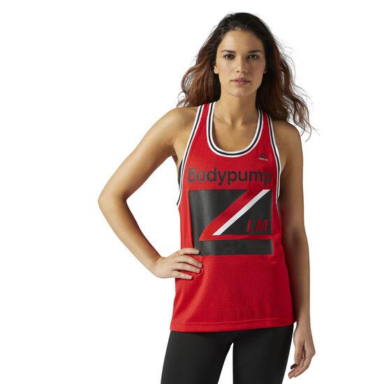 Reebok - LES MILLS BODYPUMP™ Basketball Tank Primal Red CE4197