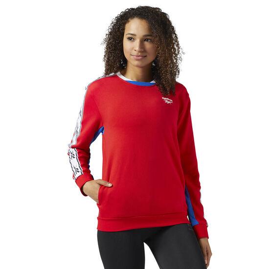 Reebok - Reebok Classics Logo crew neck Sweatshirt Primal Red CD1567