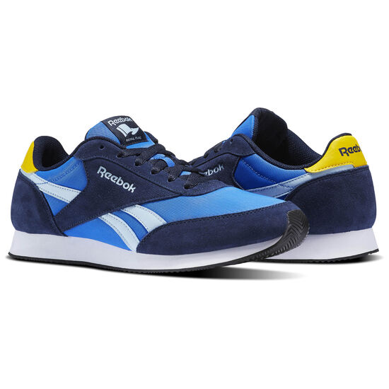 Reebok - Reebok Royal Classic Jogger 2 Collegiate Navy/Vital Blue/Fresh Blue/Yellow BS7006