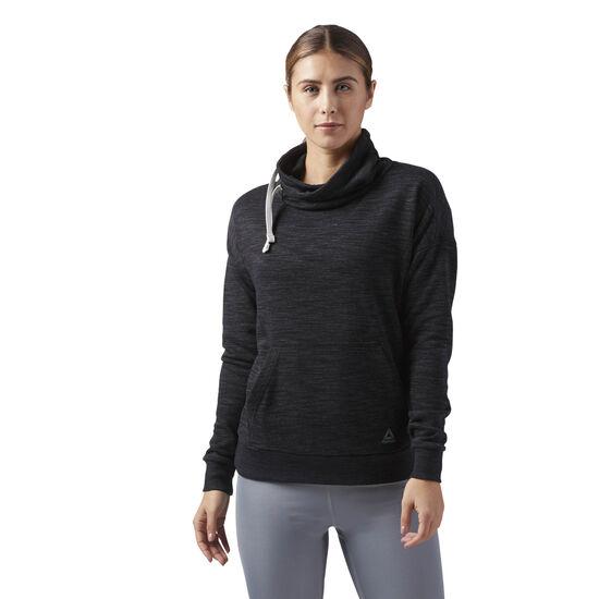 Reebok - Elements Cowl Neck Sweatshirt Black CF8644
