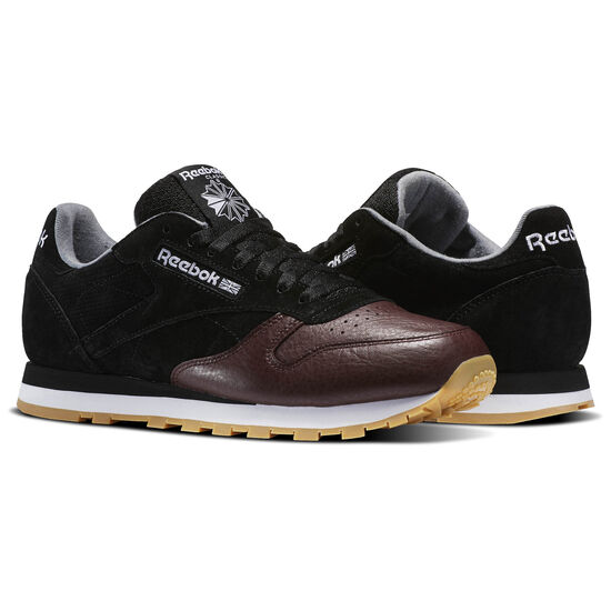 Reebok - Classic Leather LS Black/Burnt Sienna/Ash Grey-Gum BS5079