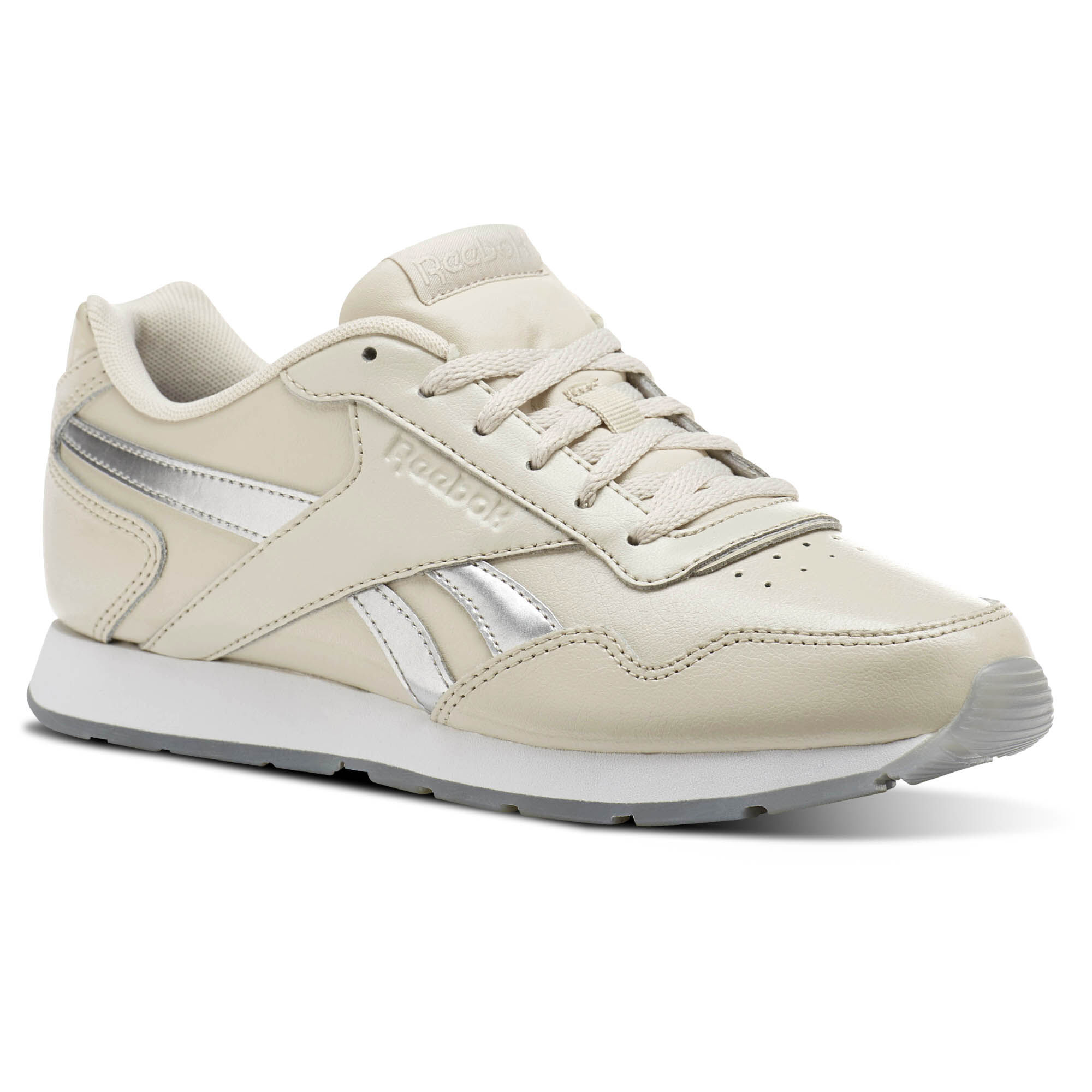 Reebok - Reebok Royal Glide Stucco/Silver Metallic/White CM9485