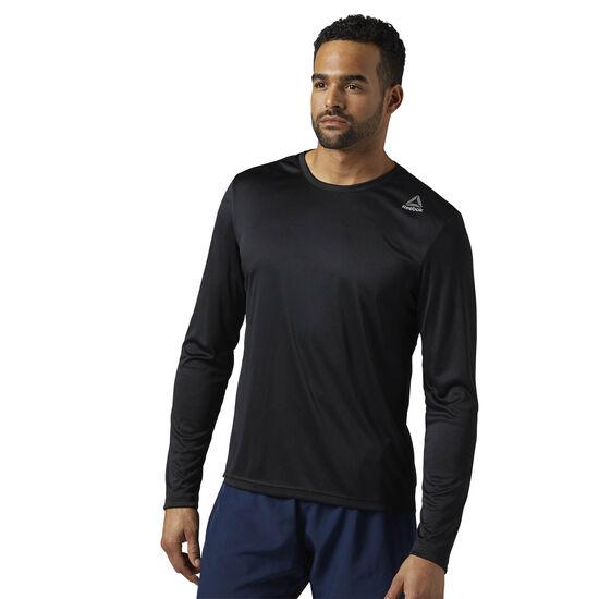 Reebok - Running Long Sleeve Shirt Black BQ7449