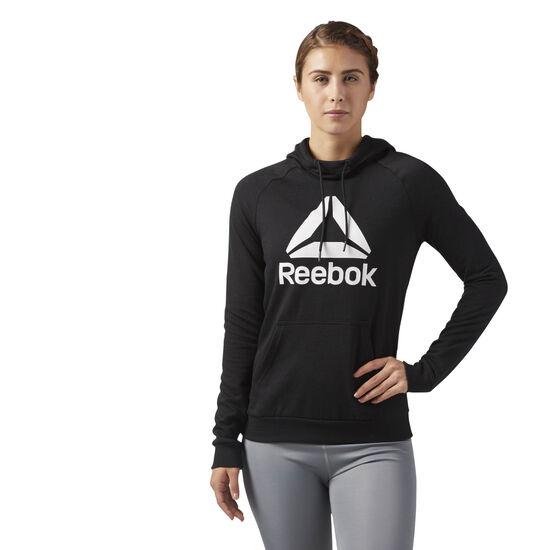 Reebok - Workout Ready Logo Hoodie Black CE1188