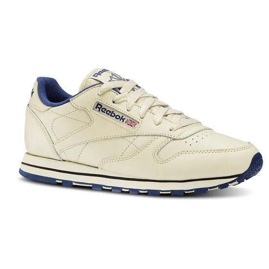 Reebok - Classic Leather Ecru/Navy 28413