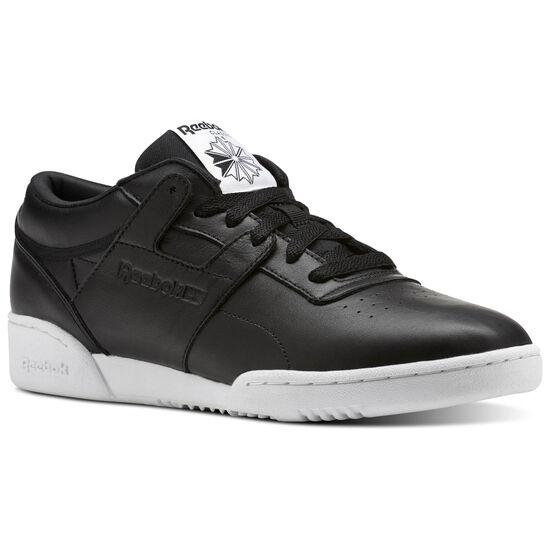 Reebok - Workout Lo Clean ID Black/Black/White BS9830