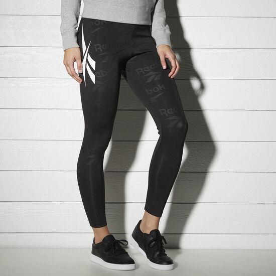 Reebok - Reebok Classics Fitness Leggings Black BK2429