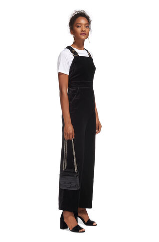 Orla Buckle Jumpsuit, in Black on Whistles