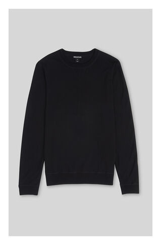 Merino Sweater, in Black on Whistles