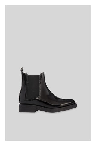 Rubber Sole Chelsea Boot, in Black on Whistles