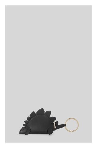Dinosaur Keyring Purse, in Black on Whistles