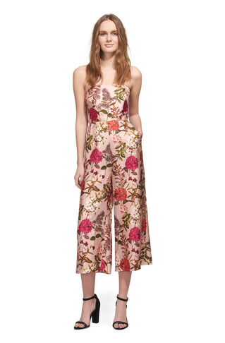 Hydrangea Tie Back Jumpsuit, in Pink/Multi on Whistles