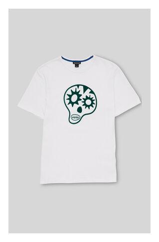 Skull Tshirt, in Green/Multi on Whistles