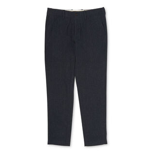 Pinstripe Tapered Trousers, in Dark Grey on Whistles