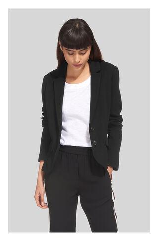 Slim Jersey Jacket, in Black on Whistles