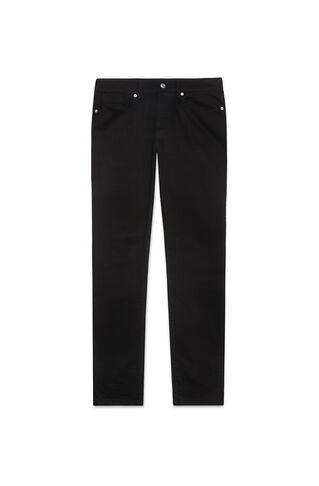 Black/Black Slim-Fit Jeans, in Black on Whistles
