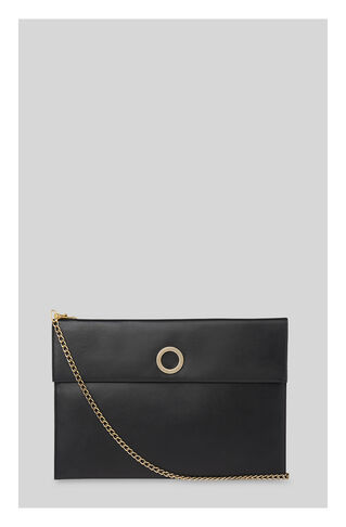 Willow Rivington Chain Clutch, in Black on Whistles