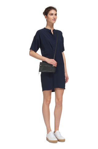 Kendall Shirt Dress, in Navy on Whistles