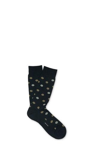 Polka Dot Merino Socks, in Dark Green on Whistles