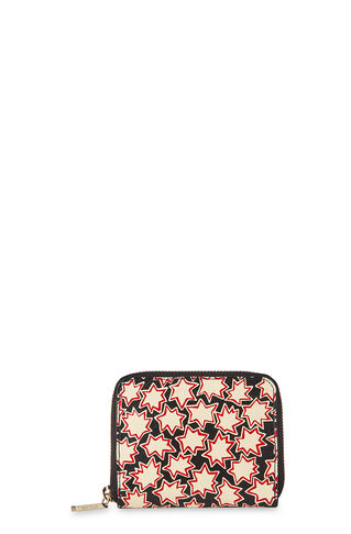 Star Small Wallet, in Red/Multi on Whistles