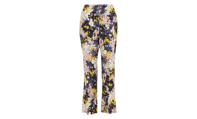 Wild Floral Selby Trouser, in Multicolour on Whistles
