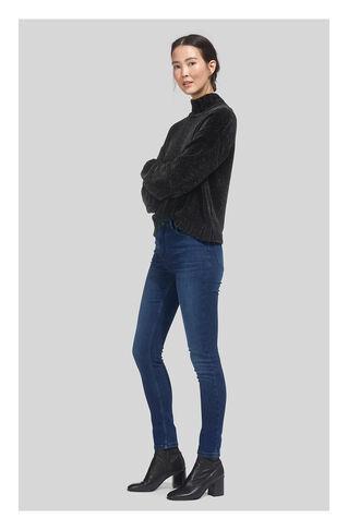 Mid Wash Skinny Jean, in Denim on Whistles