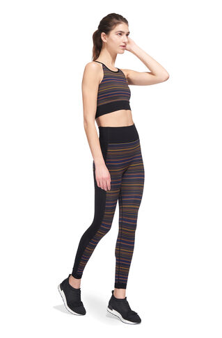 Flash Stripe Bra Top, in Multicolour on Whistles