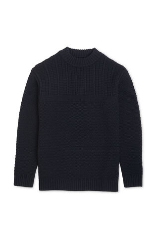Funnel Neck Sweater, in Navy on Whistles