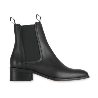 Fernbrook Leather Chelsea Boot, in Black on Whistles