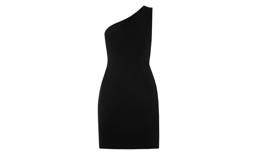 Estelle One Shoulder Dress, in Black on Whistles