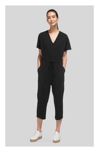 Lace Back Jumpsuit, in Black on Whistles