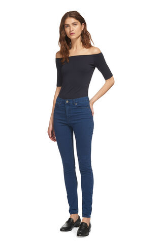 High Waist Skinny Jean, in Denim on Whistles