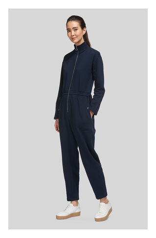 Ring Puller Jumpsuit, in Navy on Whistles